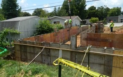 Our Progress August 10 – we have plumbing!